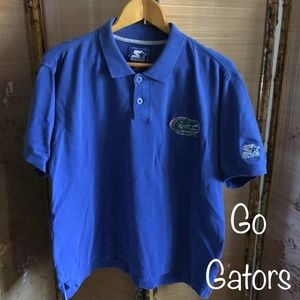 Starter UF Gators blue polo shirt from 1990s